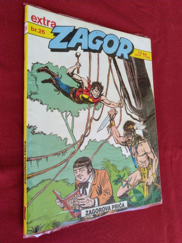 ZAGOR EXTRA (SD) br 26  Zagorova priča  (-4)