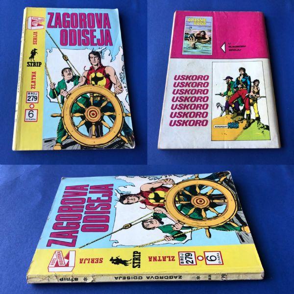 ZS br. 279: Zagor- Zagorova odiseja