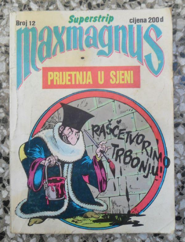 Maxmagnus Superstrip br. 12 - PRIJETNJA U SJENI