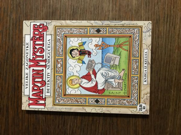 MARTIN MYSTERE - BR.81 KNJIGA IZ KELLSA