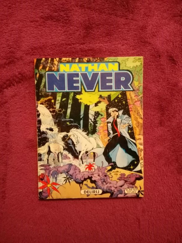 Nathan Never SD - br. 19 - Delirij (4+)