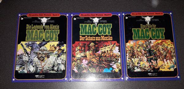 MAC COY na njemačkom,tvrde korice,3 albuma