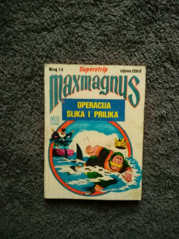 Maxmagnus Superstrip br. 14 - OPERACIJA SLIKA I PRILIKA (5-)