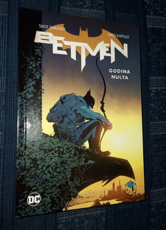 DC Gold 21 Betmen: Godina Nulta Čarobna knjiga