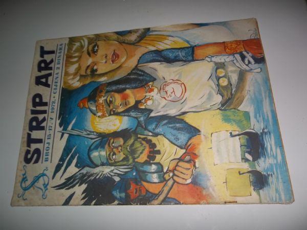 STRIP ART BROJ 15  prvo izdanje iz 1972 godine, veliki format
