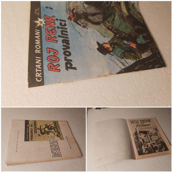 Crtani romani br 49-veoma stari strip za 1€