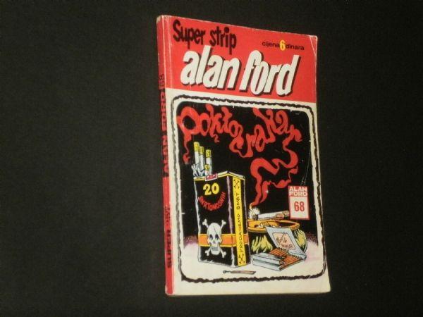 ALAN FORD 68 : DOKTOR RAKAR  (SUPER STRIP 257)