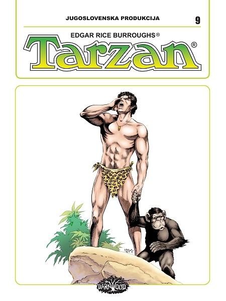 YU TARZAN br. 9 (Strip album HC )
