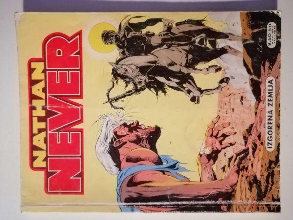 Nathan Never 12 - Izgorena zemlja (Slobodna Dalmacija)