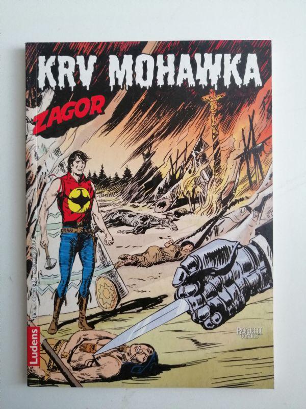 Zagor 196 - Krv Mohawka (Ludens)