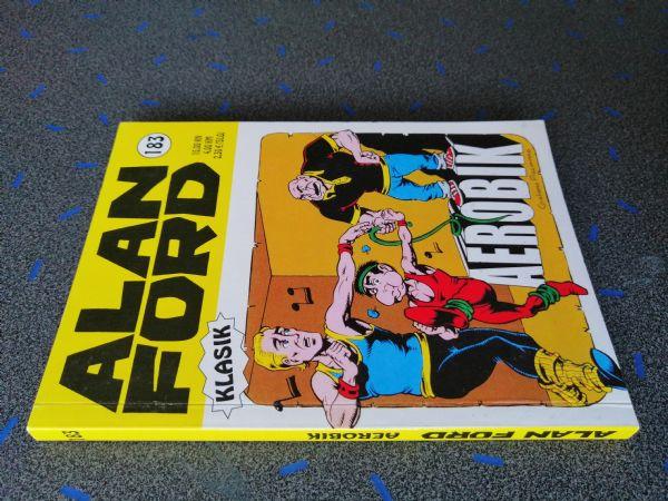 Alan Ford klasik 183 - Aerobik (Strip agent)