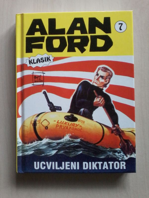 ALAN FORD KLASIK 7 - UCVILJENI DIKTATOR_TVRDI UVEZ