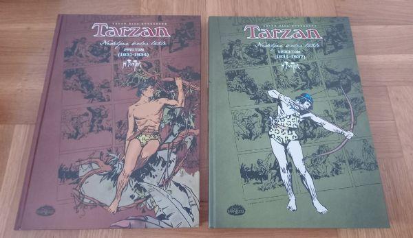 Tarzan Nedeljne kolor table- Harol Foster Darkwood Prvi i drugi tom