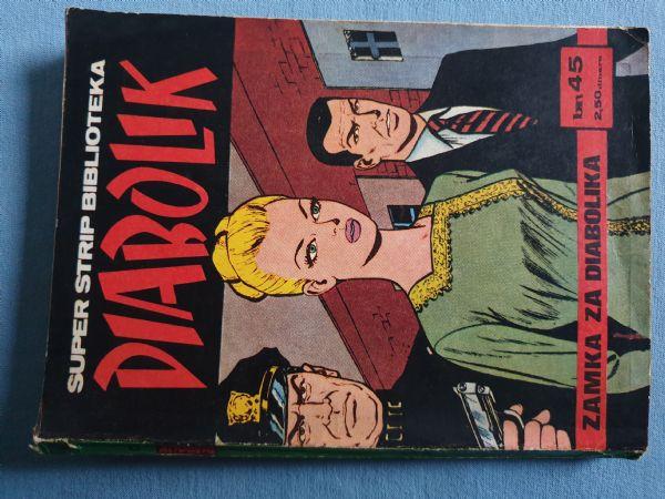 Strip Diabolik  SSB   Br 45  Ocijena 4+
