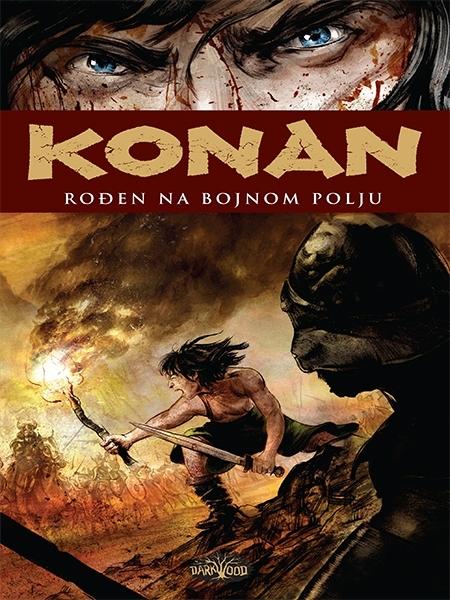 KONAN - Rođen na bojnom polju (Strip album SC )
