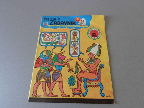 POLITIKIN ZABAVNIK Br 1203  1975 GOD.  ( 4 / 4+ )
