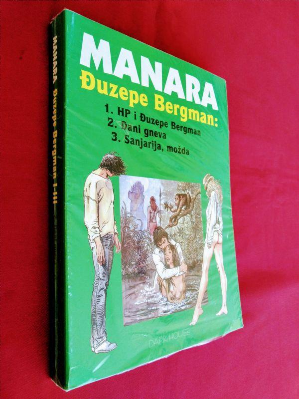 MANARA (Darkhouse)  Đuzepe Bergman   I - III  (-5/5)