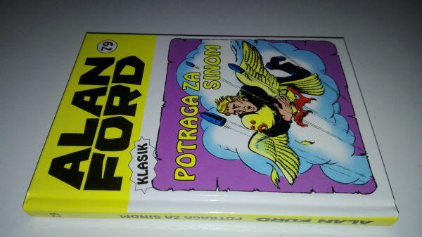 Alan Ford klasik 79 - Potraga za sinom (Strip agent) - Tvrde korice