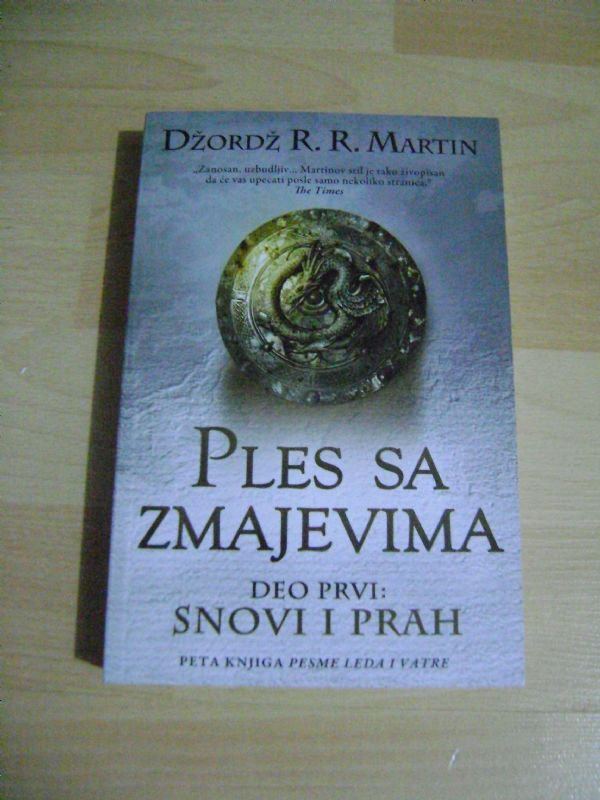 PLES SA ZMAJEVIMA 1.DIO. - DŽORDŽ R.R. MARTIN - LAGUNA