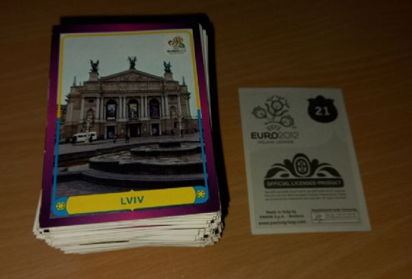 Euro 2012 Panini lot 278 različitih sličica