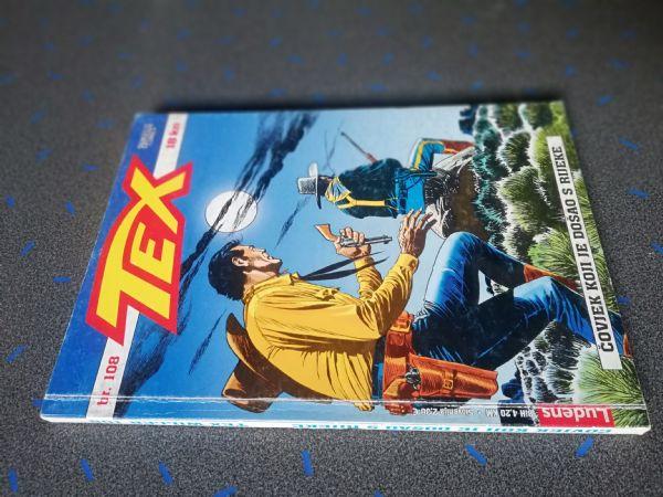 Tex 108 - Čovjek koji je došao s rijeke (Ludens)