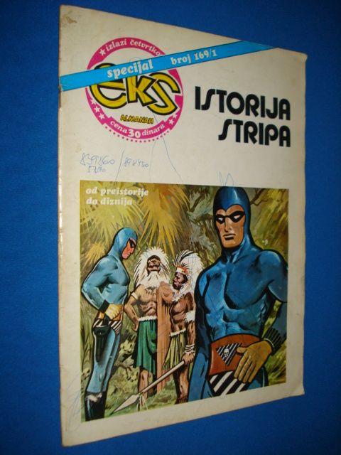 EKS almanah specijal br. 169/1 ISTORIJA STRIPA