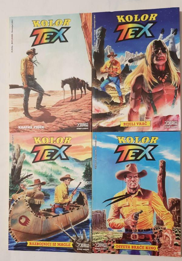 KOMPLET : Tex kolor (1 - 4)