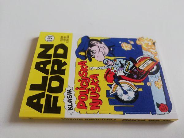 Alan Ford klasik 191 - Policijska njuška (Strip agent)