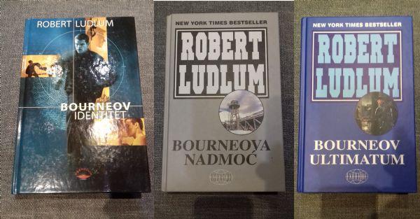ROBERT LUDLUM - Trilogija Jason Bourne