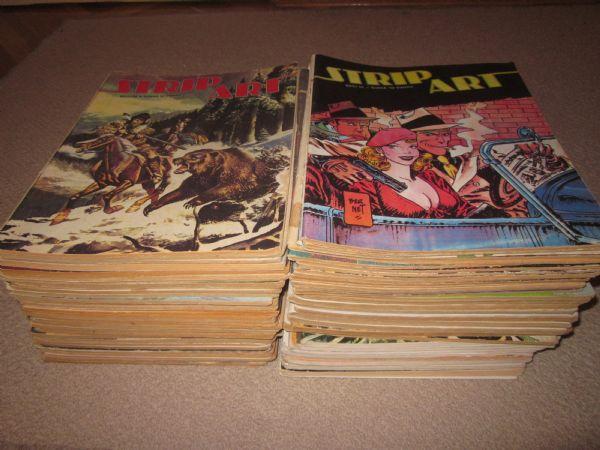 Strip Art Komplet (1-72)