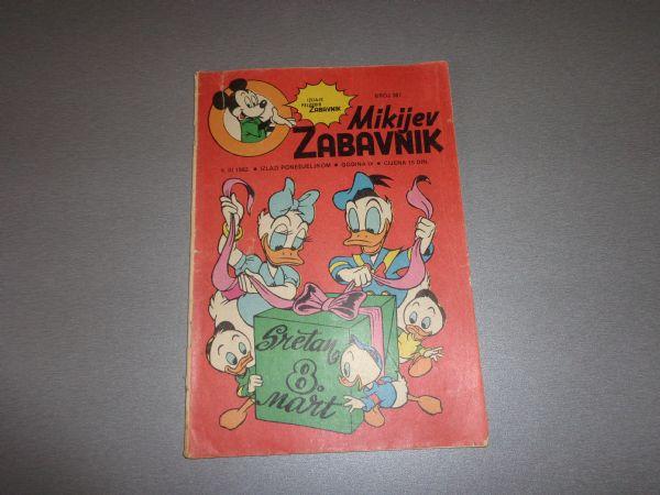 MIKIJEV ZABAVNIK Br 387  1982 GOD.  ( -4 / 4 )