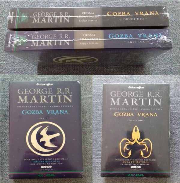 George R. R. Martin  Gozba vrana 1. i 2.