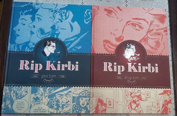 Rip Kirbi - Čarobna knjiga - tom 1 i 2