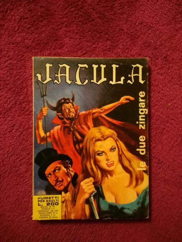 Jacula - Le due zingare - talijanski erotski horror strip (5-)