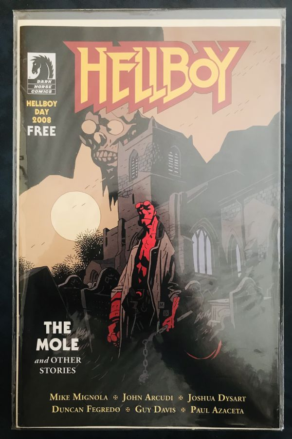 RARITET: HELLBOY Free Comic Book Day 2008 (Dark Horse Comics)