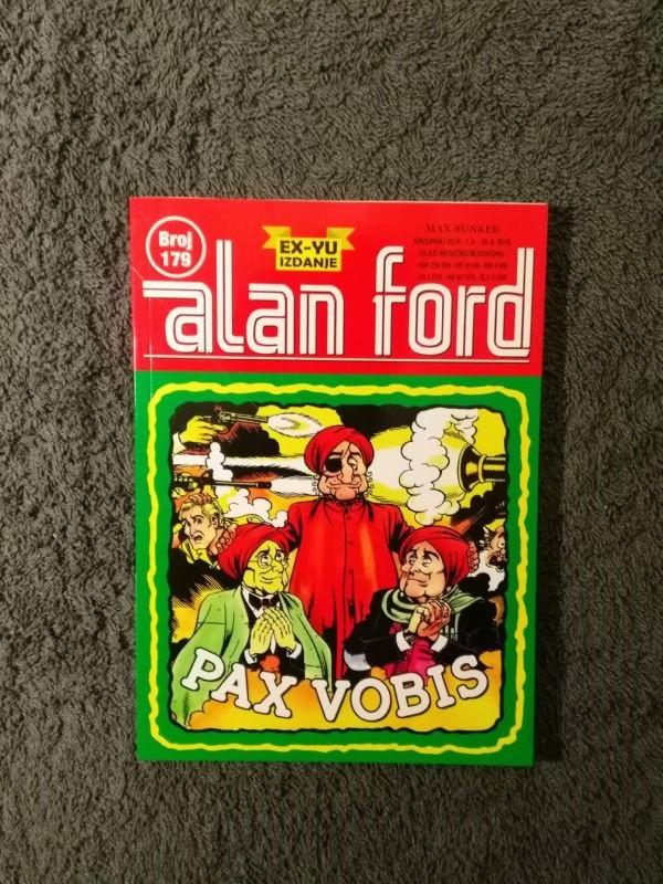 ALAN FORD Svet 179 Pax vobis (5-)