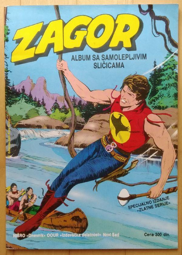 Album ZAGOR kompletno popunjen