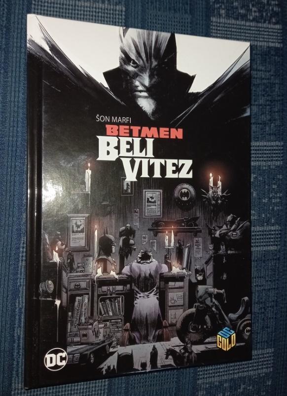 Dc Gold knjiga 24 Betmen Beli vitez Čarobna knjiga