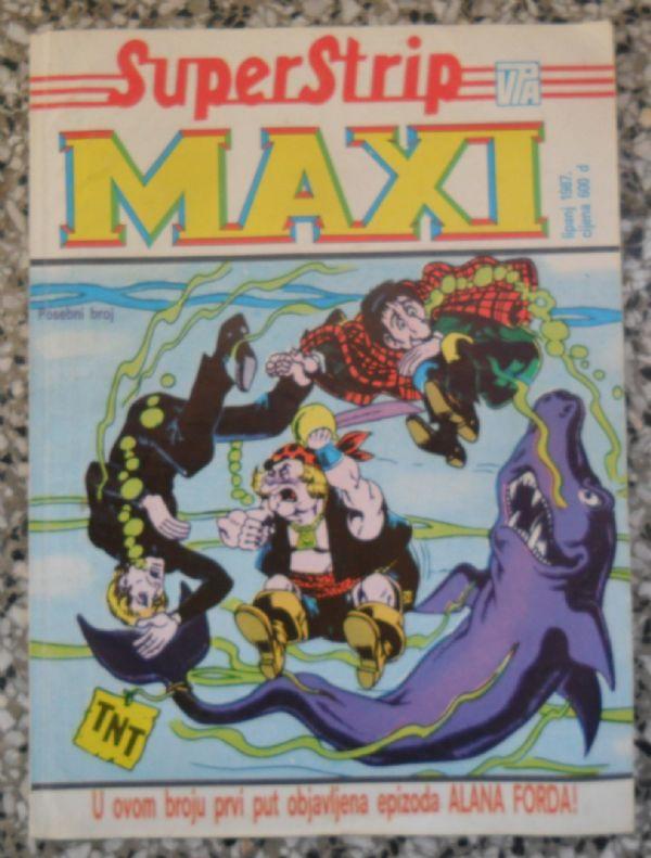 Alan Ford Superstrip maxi lipanj 1987