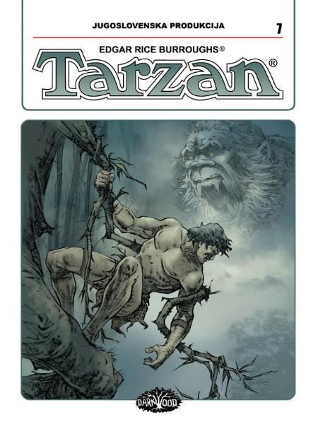 YU TARZAN br. 7 (Strip album HC )