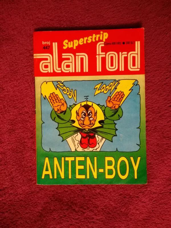 ALAN FORD Superstrip br. 447 - Anten-boy (4+/5-)