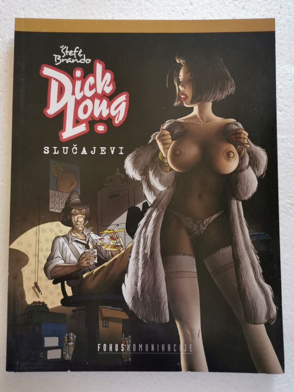 DICK LONG - Slučajevi  (Strip album SC)
