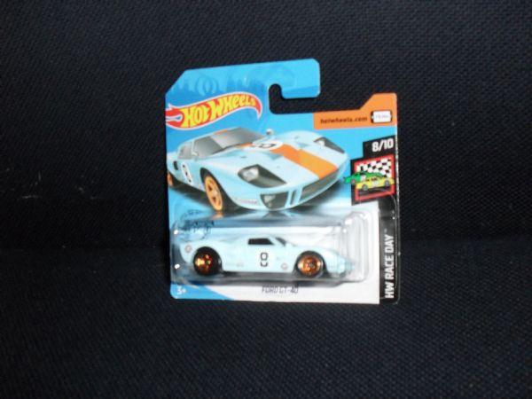 FORD GT-40 ´66 - car legend hot wheels