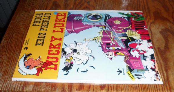 Lucky Luke br. 1 - Pruga kroz preriju