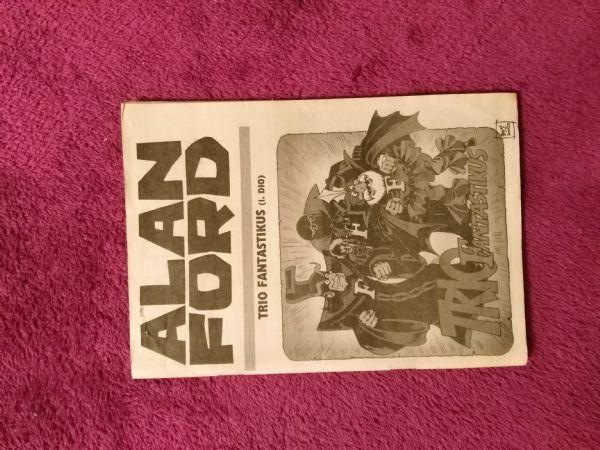 Alan Ford Prilog Večernjeg lista - Trio fantastikus I.dio (5-)