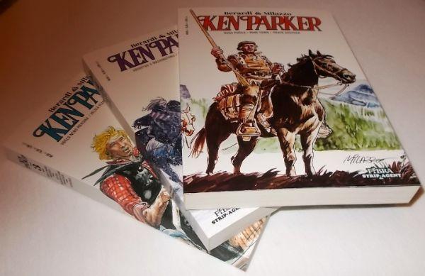 Ken Parker knjige 1-3 (Fibra / Strip-agent)