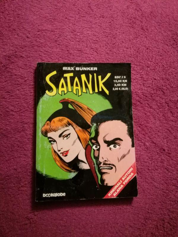 Satanik Bookglobe br. 6