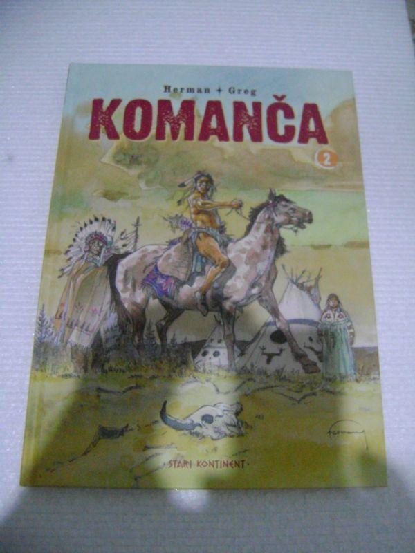KOMANČA 2 - ČAROBNA KNJIGA