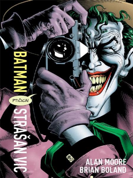 BATMAN - Strašan vic (Strip album HC)