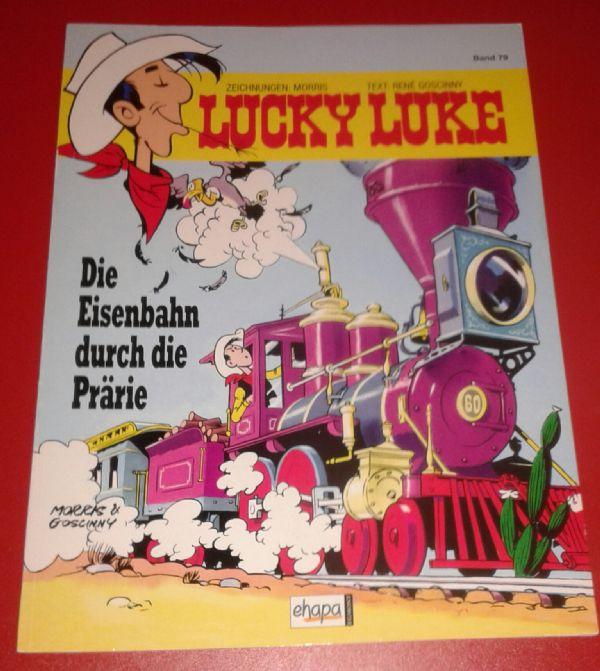 Lucky Luke - br 79 Die Eisenbahn durch die Prarie
